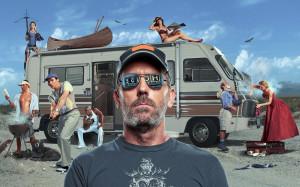 House M.D. 'House MD' Cast Season 6 Promotional Photoshoot Wallpaper