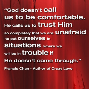Quotes from the book Crazy Love by Francis Chan