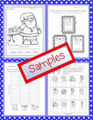 christmas activity christmas counting activity christmas activities ...
