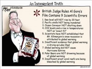 Al Gore and his global warming/climate change scam… op-ed cartoons ...