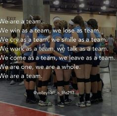Team Volleyball Quotes, Team