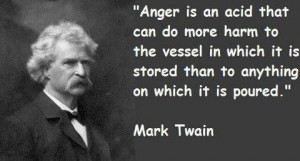 Don't let anger take control.