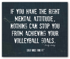 Volleyball Quote #004