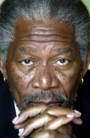 MORGAN FREEMAN TO PLAY WISE OLD MAN IN NEW MOVIE