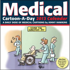 Medical Cartoon-A-Day Desk Calendar