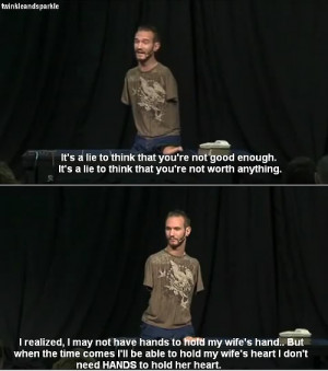 Nick Vujicic #Man of hope