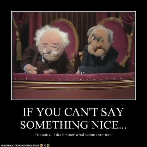 loved statler and waldorf