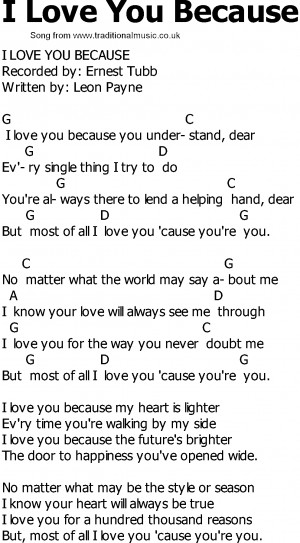Love Lyrics From Country Songs Old country song lyrics with