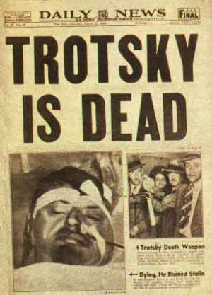 Leon Trotsky dead .