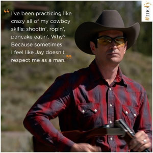 Modern family quotes, best, sayings, cowboy