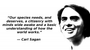 Carl Sagan: Departed Friend of Science
