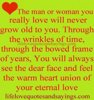 Eternal love quotes for the one you love