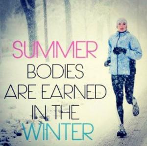 Winter running motivation...
