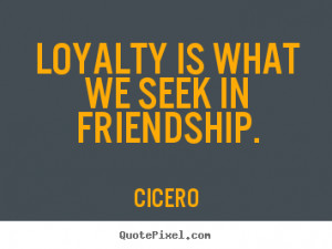 Cicero Friendship Quotes Latin