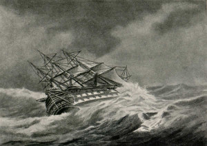 floating boater