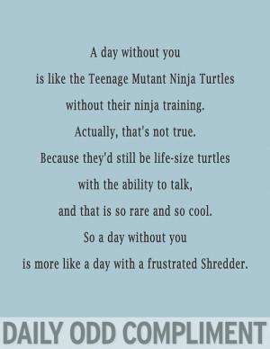 Teenage Mutant Ninja Turtles Shredder Quotes