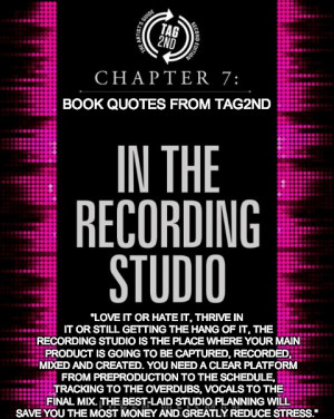music business quotes, chapter 7, recording studio quotes, artists ...