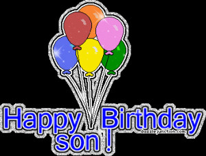 ... Birthday Cards, Happy Birthday Sons, Br Happy, Sons Comments, Birthday