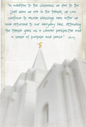 LDS Planners for Moms: Temple Quotes