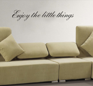 ... THINGS Vinyl wall quotes Inspirational sayings home art deco for home