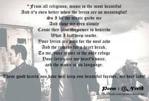 Poems The Script Quotes