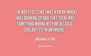 Madonna Quotes On Life