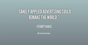 Stuart Chase Quote