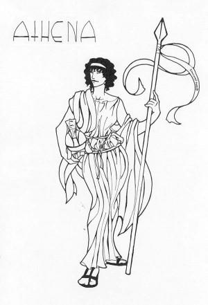 Athena Greek Mythology Quotes