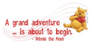Winnie the Pooh Quote About Adventure