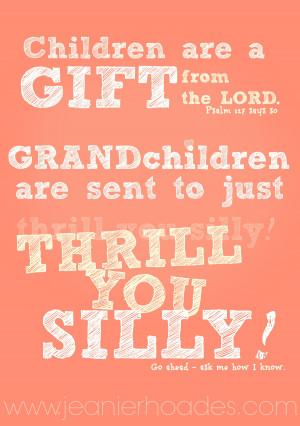 grandchildren quote by jeanie rhoades