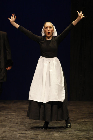Brooke DeBetties in The Crucible (Abigail Williams)
