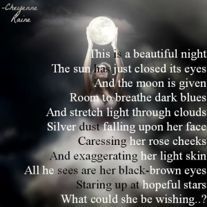 dark light bright sky silver dust rose skin black stars poem poetry