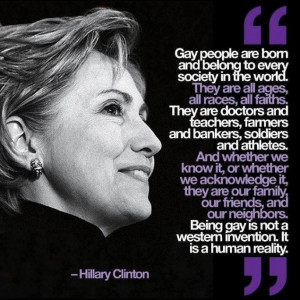 Hillary Clinton nails it