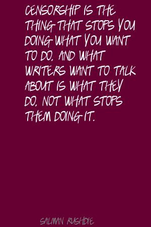 Want To Do, And What Writers Want To Talk About Is What They Do, Not ...