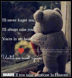 ll never forget you. :)