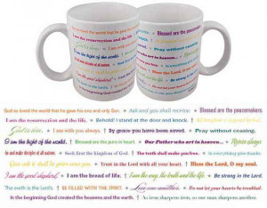 Coffee Mug - Famous Bible Quotes Gifts
