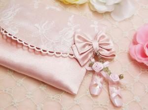 beautiful, bow, cute, lace, pink, purse