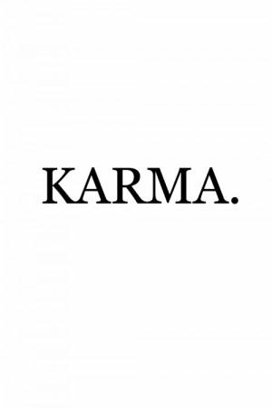 karma, quotes, text, typography