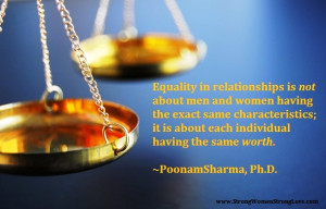 equality in relationships quote