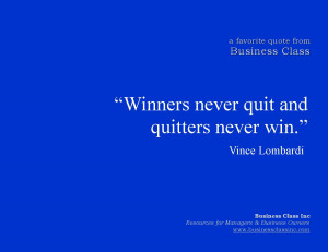 winners never quit sayings