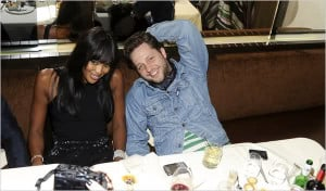 EARLY ACCESS Mr. Blasberg with Naomi Campbell in South Beach in ...