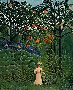 Henri Rousseau Quote Henri Rousseau Femme se promenant