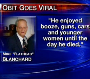 ... , funny photos, epic win, awesome, The Most Badass Obituary EVER
