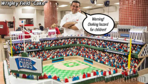 Cake Boss Chicago Cubs Wrigley Field Buddy Valastro Cake