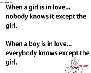 Difference between boy and girl in Love true story