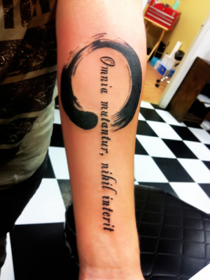 Enso and Latin Quote.