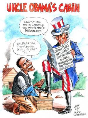 Racist Cartoons Targeting President Obama [PHOTOS]