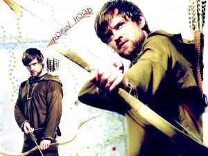 Jonas Armstrong : Robin Hood (T.V. Series)