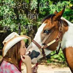 ... horse as their best friend! #horses #halter #cowgirl #horsequotes