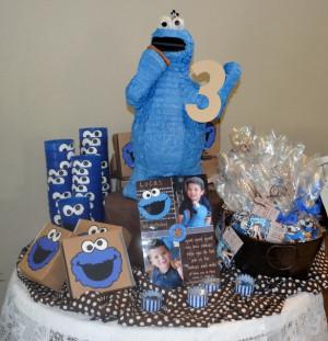 Cookie Monster Happy Birthday